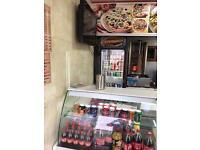 Pizza kebab takeaway in coatbridge for sale