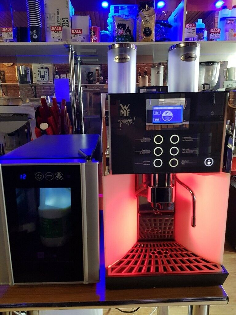 WMF Presto Bean to Cup Coffee Machine + WMF Milk Fridge 8 ltr. | in Belfast City Centre, Belfast | Gumtree