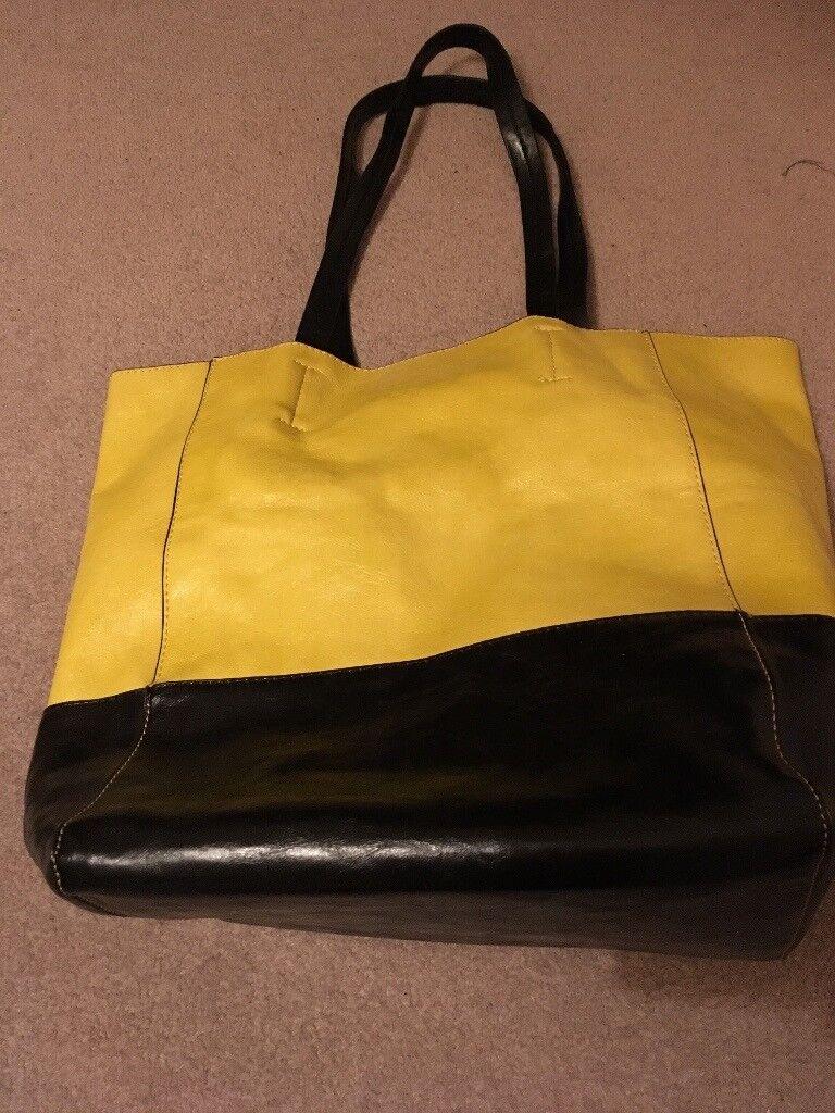 Beautiful leather bag NEW PRICE!