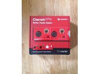 New/unused boxed Clarett 2Pre Thunderbolt Audio Interface £240 !