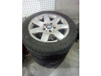BMW e46 320 3 Series 16 inch alloy wheels