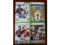 FIFA 14, 2010 Fifa World Cup, Fifa 09, Fifa 07 (Xbox 360)