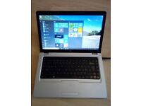 HP G62 Laptop, Windows 10, MS Works, 320gb Hard Drive, DVD Re-writer, HDMI, Wifi, Webcam, Charger