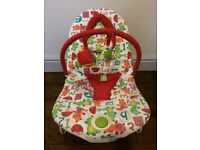 Mamas and papas baby vibrating chair Buzz Bouncing Cradle very good condition