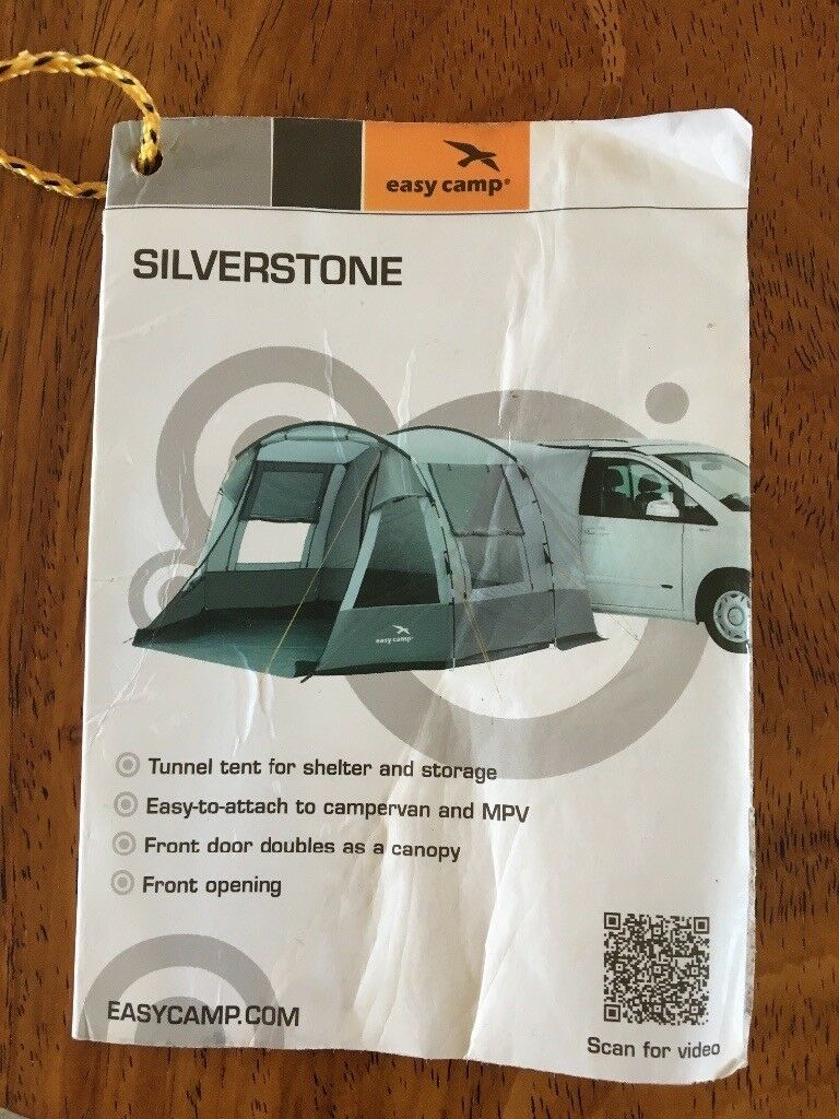 SILVERSTONE Tunnel tent awning - for vans or stand alone   in Brighton,  East Sussex   Gumtree
