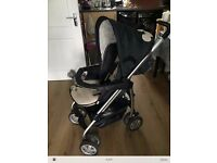 * HAUCK NEUTRAL MICKEY COMPLETE TRAVEL SYSTEM RRP £200 *