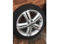 5x100 VW Polo alloy wheels