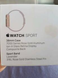 Apple Iwatch Sport ( Rose Gold )