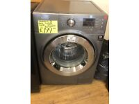 SAMSUNG 8KG DIGITAL SCREEN WASHING MACHINE IN GREY