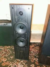 Pair Acoustic Solutions AV-120 speakers