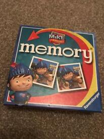 Mike the Knight Memory Game