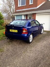 Spare or repair 04 vauxhall astra
