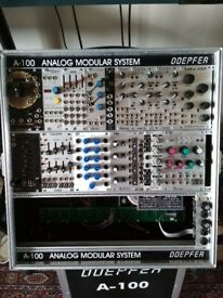 Eurorack Doepfer A-100 and modules