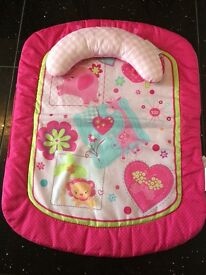 Baby girl play mat- bright starts