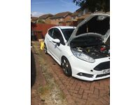 Fiesta st-2 in White peron stage 2