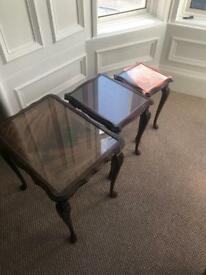 Antique nest of tables bought from Abernite last year