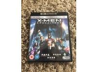 X-Men apocalypse 4K ultra HD + blu-ray - Near Ferndown