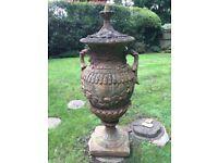 A garden pot 5f 3 hight