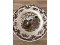 Various Mason's plates