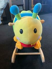Caterpillar baby rocker