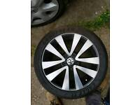 Vw golf mk6 GTD alloys