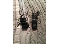VERTEX STANDARD TWO WAY RADIO WITH CHARGER