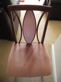 4 dining room chairs (G-plan brand)