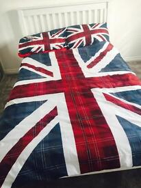 Small double bed and small double mattress