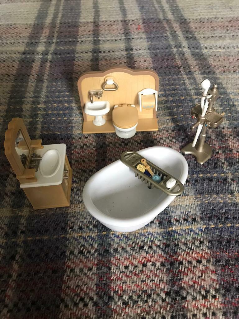 Sylvanian Families Bathroom Set  in Muswell Hill, London  Gumtree