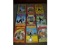 Lot wullie and Broons anuals