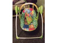 Chad valley deluxe baby swing