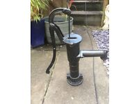Wrought iron water pump for sale