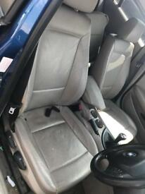 Bmw 1 series e87 full cream leather interior