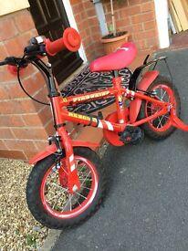 Boys - Fireman Bike