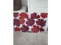 Pink / purple flower Chopping boards