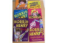Horrid Henry's books x6