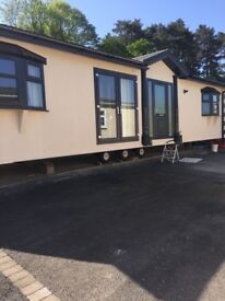 Static caravan for rent 2 bedroom