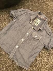 Next baby shirt 9-12 months