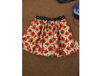 Girls next skirt aged 5 years lined