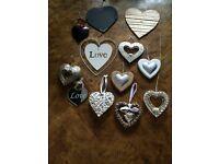 Wall hearts