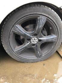 195/45/15 VW Alloy Wheels