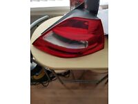 Renault megane rear lights