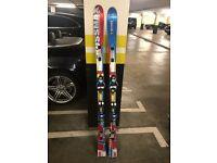 Salomon Crossmax skis 165cm