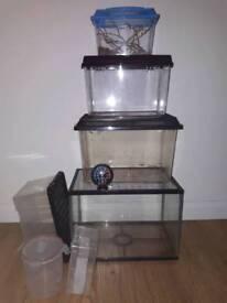 Fish/reptile/invertebrates/hatchling enclosures
