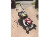 "Honda HRD536 rear roller 21"" cut Lawnmower"