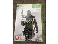 Xbox 360 Call of duty Modern Warfare 3