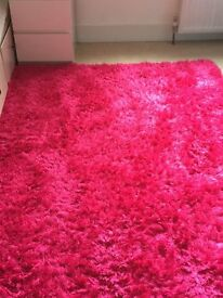 Pink Large Rug