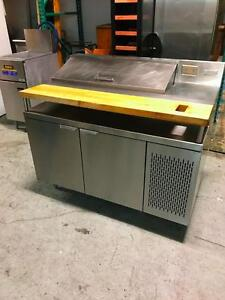 """Table a Salade 48"""" MKE Refrigerated Preparation Sandwich Table"""