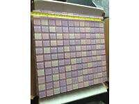 7x sheets of glass mosaic tiles