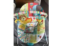 Chad valley vibrating baby bouncer